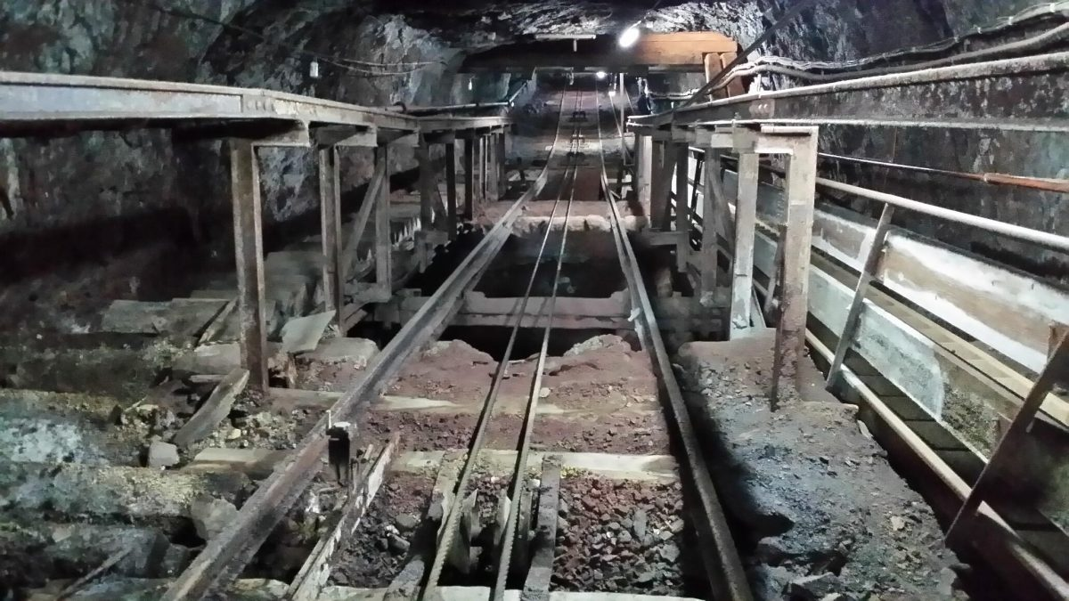 Institute excursion: the Gonzen Mine