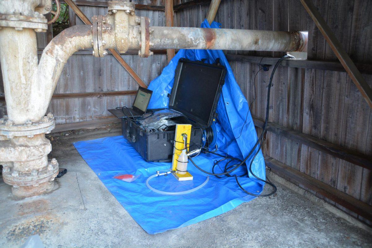 Gas monitoring in Japan