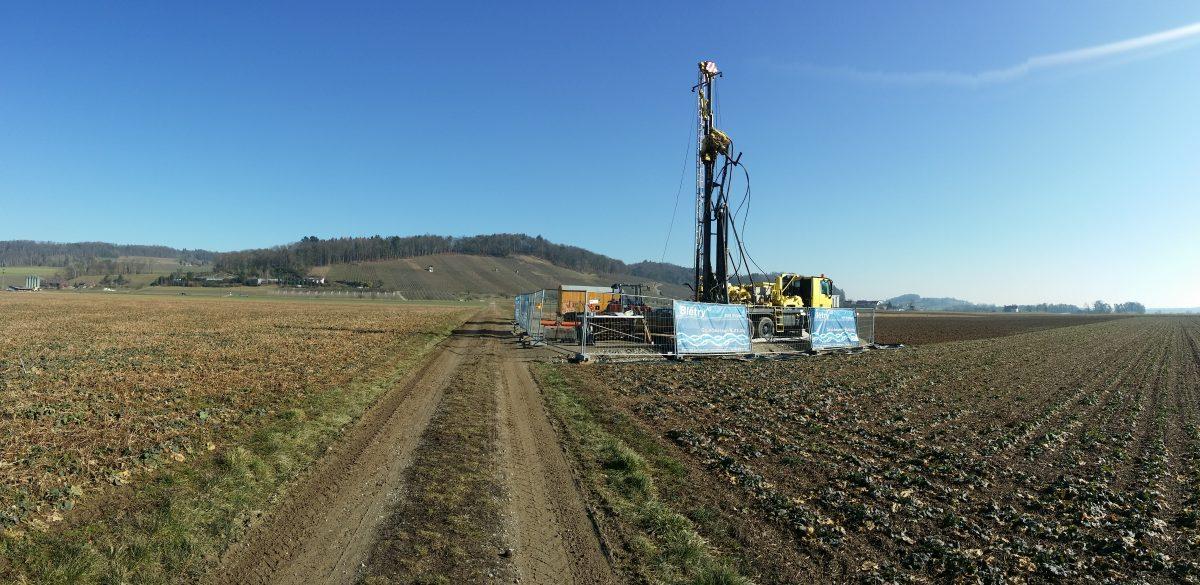 Drilling Trüllikon-Rudolfingen (ZH)