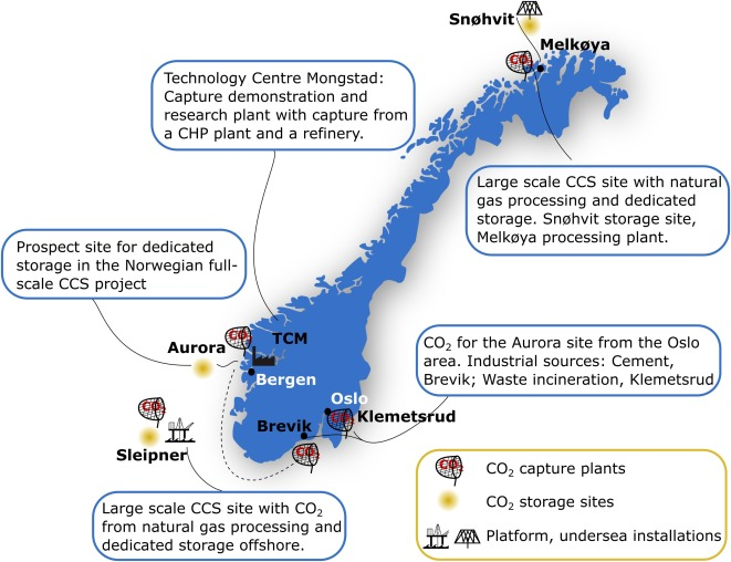 Article on carbon capture and storage (CCS) in Norway
